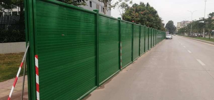 木塑围墙围挡围栏生产厂家找欣源木塑