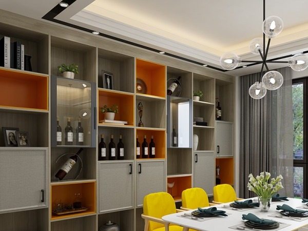 惠城家用酒柜設計