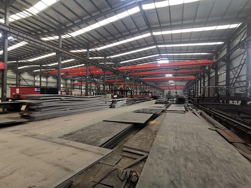 天水鋼結構廠房公司,單層鋼結構廠房安裝
