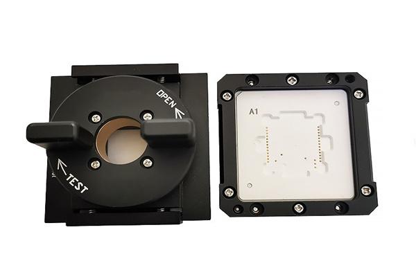 定制IC检测治具POGO-PIN集成模块测试座模块烧录夹具