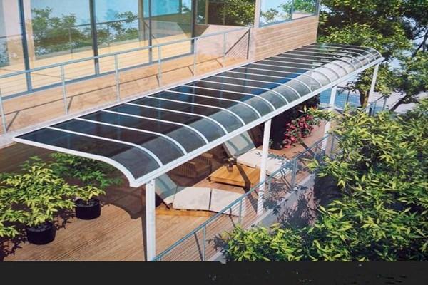 铝合金遮雨棚