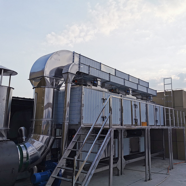 vocs废气处理设备报价-倾销微波催化燃烧装置