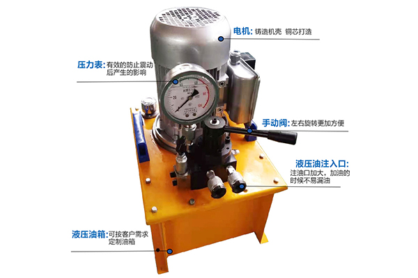 山东液压电动泵厂家 文庆超高压电动泵站 设计加工非标液压系统