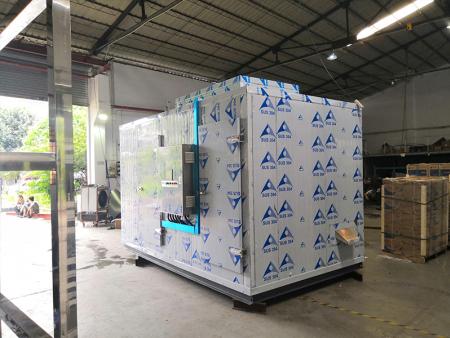 污泥低温箱式干化机-泉能智能低温热泵污泥干化机供应商