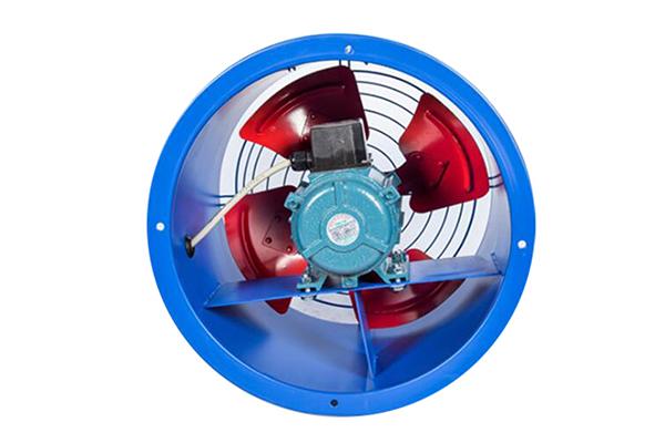 德州轴流风机生产厂家 恒创方形壁式轴流风机 可定制防腐防爆型