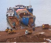 中东回中国的回程散货船联系方式
