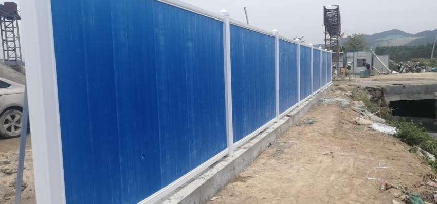 市政道路围墙-围挡-木塑围挡-市政围挡选择欣源木塑厂家源头
