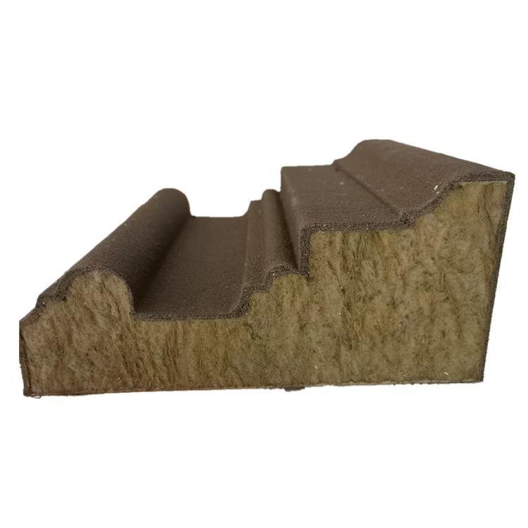 岩棉板线条