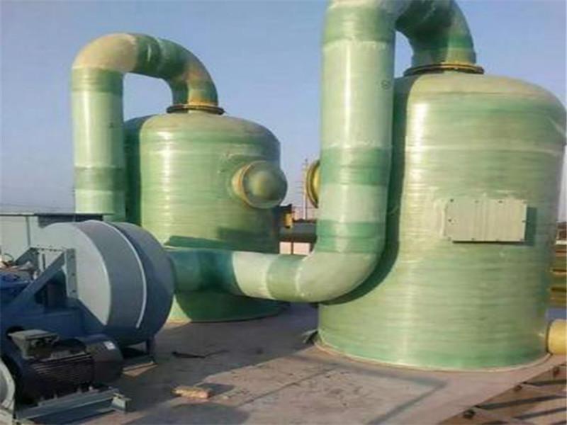 高質量的玻璃鋼噴淋塔-棗強恒澤玻璃鋼噴淋塔廠家供應