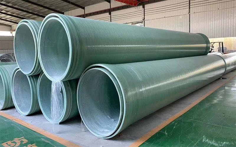 天津玻璃鋼夾砂纏繞管道供貨商