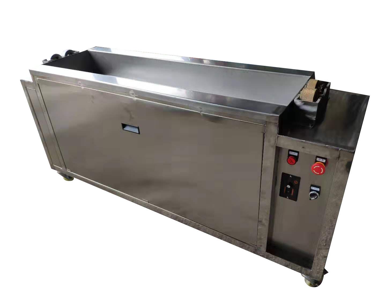 工业滚筒毛刷专用超声波清洗机