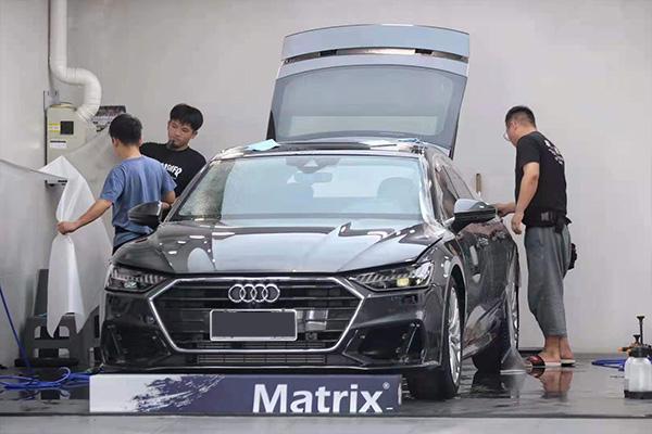 Matrix矩阵车漆提亮保护贴