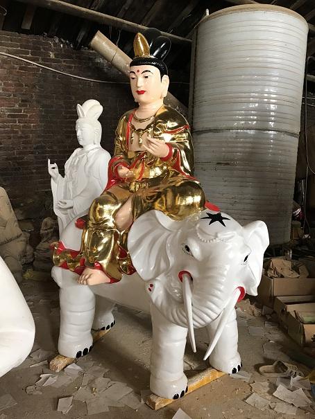 江西普賢菩薩木雕像價位,文殊普賢菩薩木雕像定做