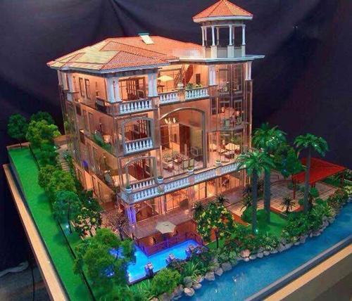别墅模型制作 别墅模型设计 别墅模型公司 别墅建筑模型