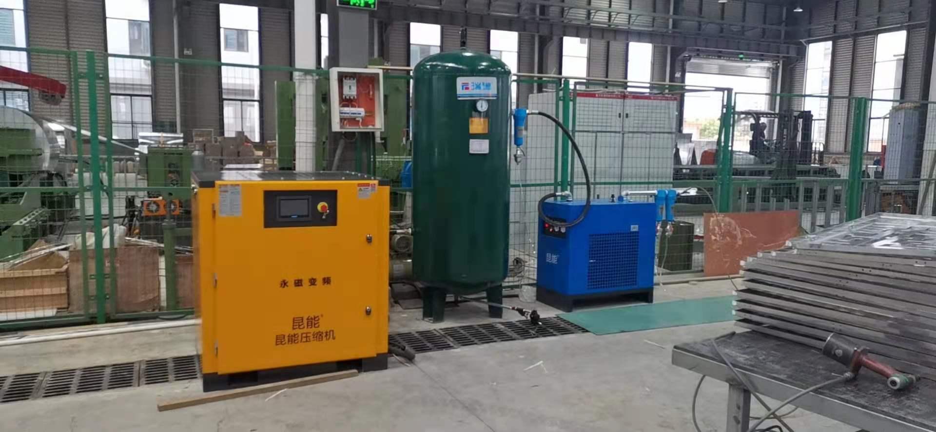 面向四川,云南,贵州,重庆提供上海22KW螺杆空压机(直联)