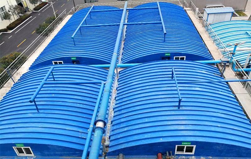 宁夏污水膜结构池除臭加盖出售