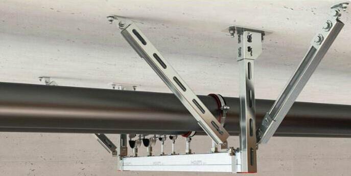 沧州抗震支架生产厂家-风机抗震支架-暖通抗震支架