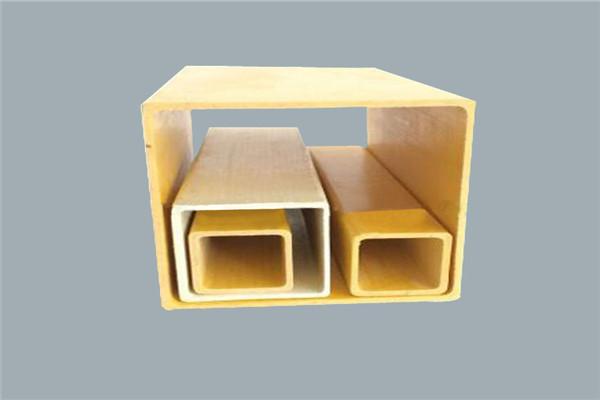 厂家供应玻璃钢方管矩形管日字管拉挤型材可生产定制