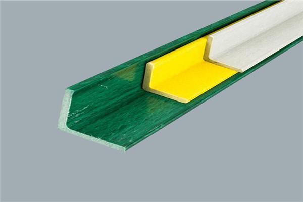 生产厂家供应玻璃钢角钢玻璃钢拉挤型材可定制型齐全