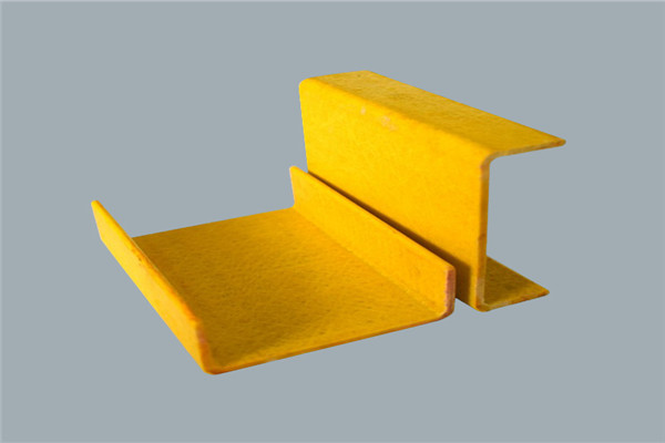 生产厂家供应玻璃钢槽钢玻璃钢拉挤型材可定制型号齐全