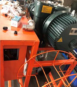 六氟化硫抽真空泵装置