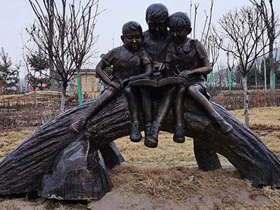甘南城市鍛銅雕塑設計