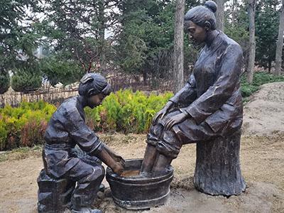 甘南戶外鍛銅鑄銅雕塑定做