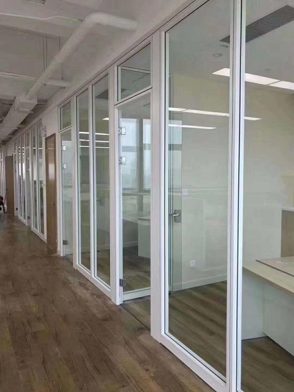 兰州单层透明玻璃隔断|甘肃单层透明玻璃隔断