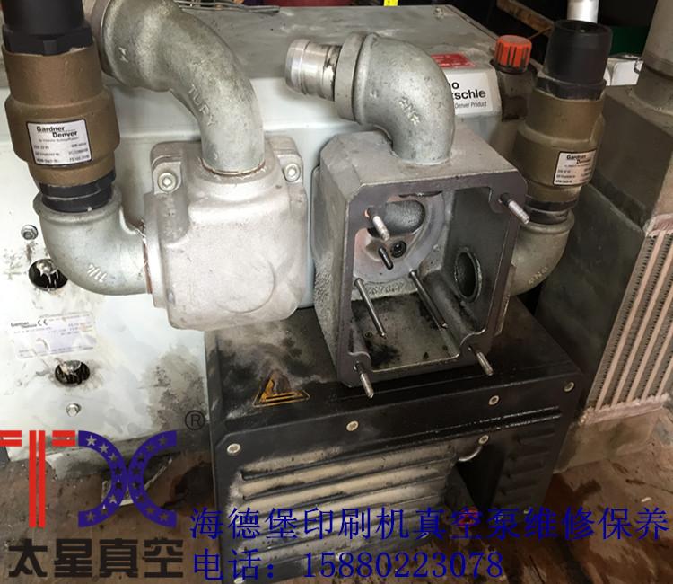 海德堡KLR110印刷机爪式真空泵维修