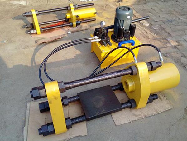 履带拆卸器厂家 翔宙液压YJ100-B手电一体型履带销拆卸器