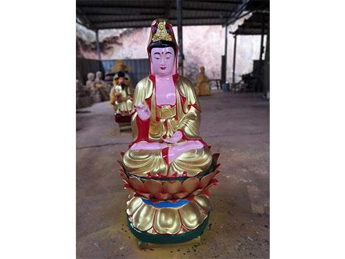 廣東觀世音木雕像采購,觀世音菩薩佛像供應