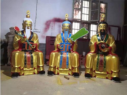 三清神像寺廟道觀木雕神像順天木雕工藝廠