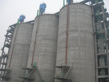 河南煤仓滑模施工公司-粮仓滑模施工工程