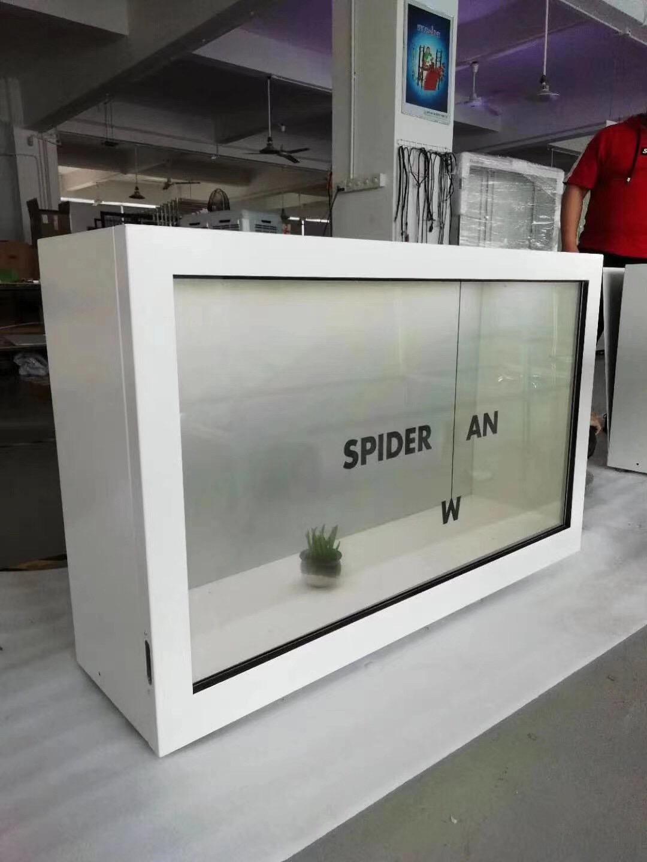 透明屏展示柜