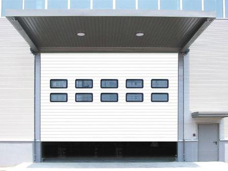 东营透明式工业门尺寸,电动工业门安装价格