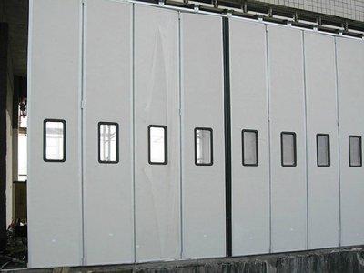 莱芜厂房折叠门公司,工业折叠门设计