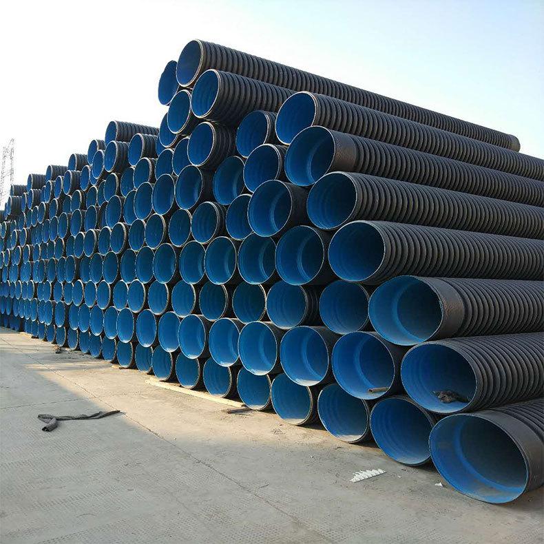 雙鴨山HDPE波紋排水管多少錢