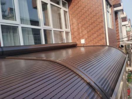 泰安電動陽光房遮陽頂簾加工廠