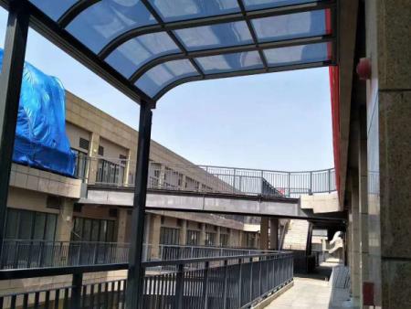 青州铝合金雨棚工程