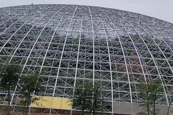 陜西溫室大棚鋼骨架施工,大棚骨架多少錢