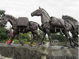 山东园林铸铜雕塑生产厂