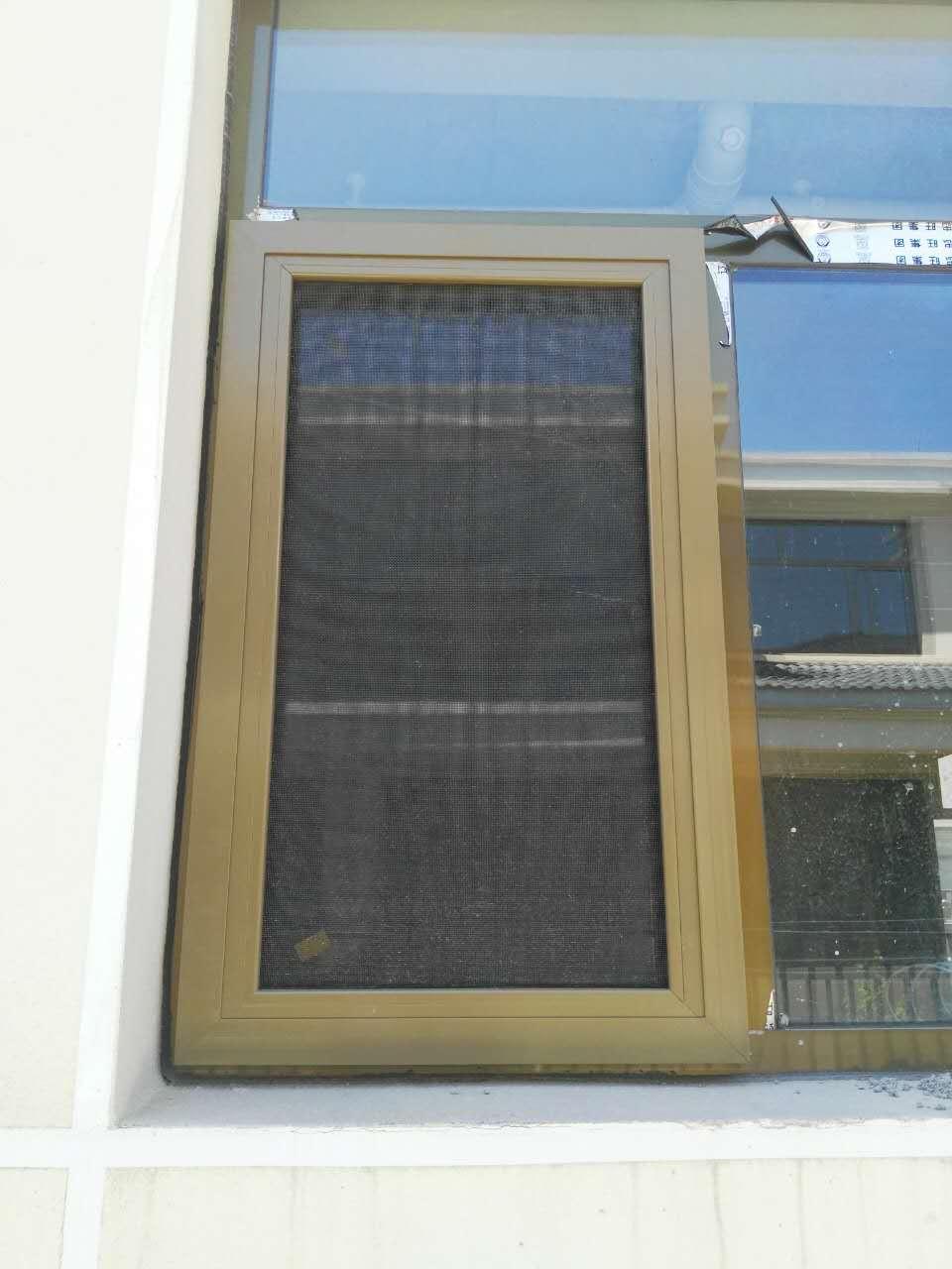 顺义金属式防盗纱窗测量安装