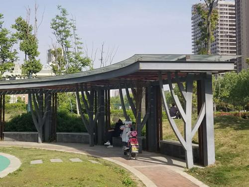 东营园林钢结构廊架多少钱