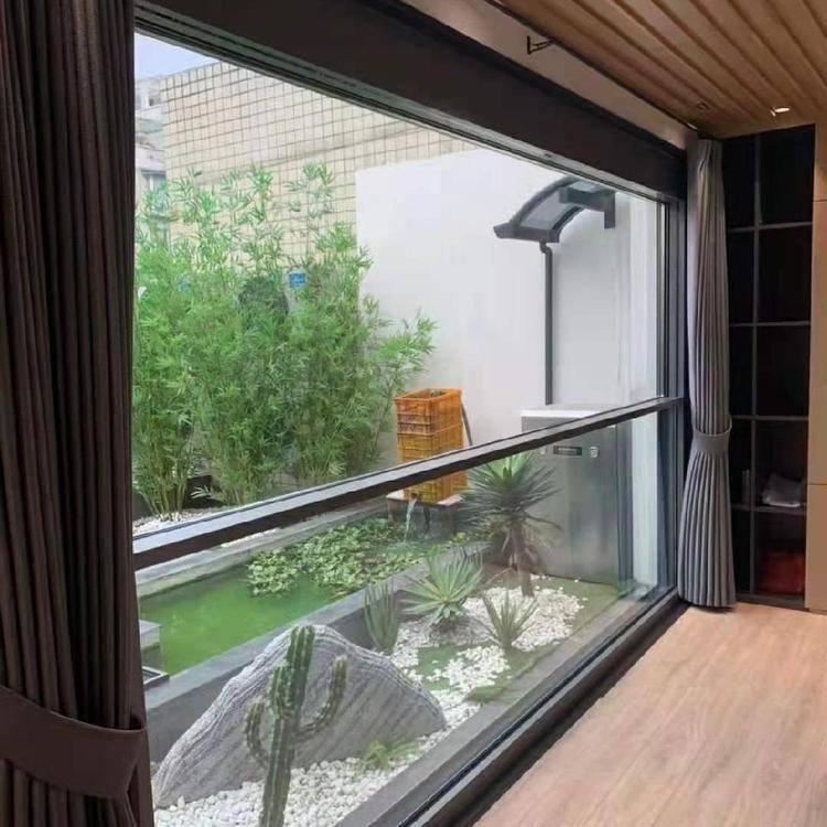 封阳台电动升降窗定做-智能提升窗生产-智能提升窗加工