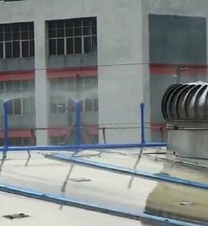 广西铁皮厂房屋项喷淋降温