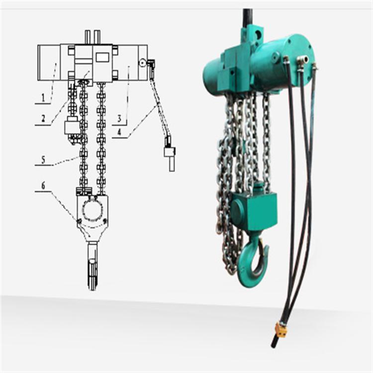 氣動葫蘆安裝-氣動葫蘆標準-氣動葫蘆型號