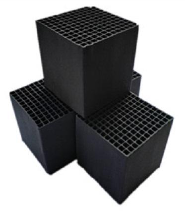 蜂窝活性炭-工业废气净化活性炭