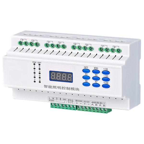 6回路16A调光控制器-恒立信电力批发的智能照明控制器怎么样