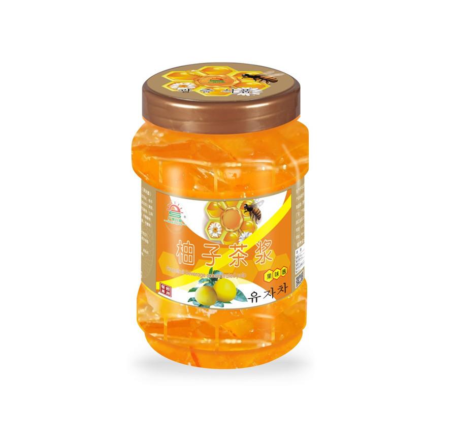 蜂蜜柚子茶漿