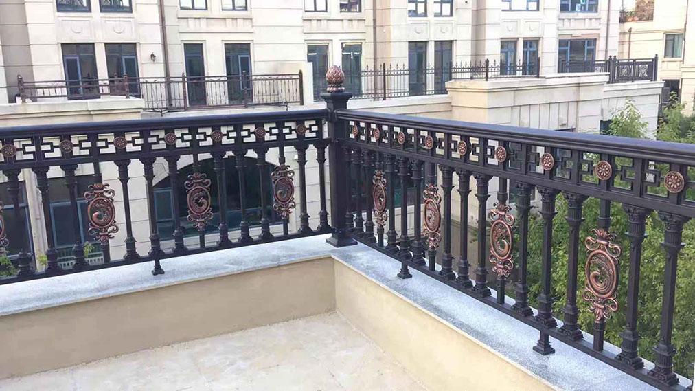 兰州铝艺护栏|甘肃铝艺护栏安装|青海铝艺护栏厂家